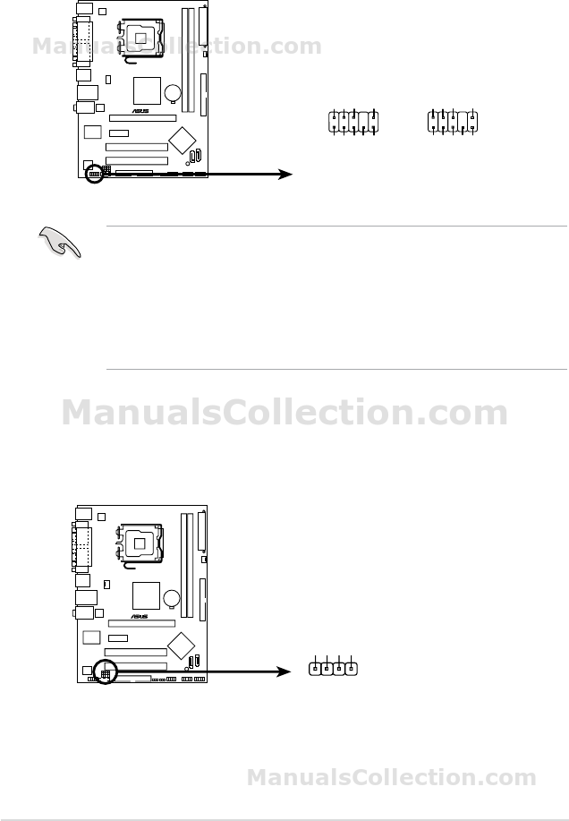MANUAL ASUS P5VD2-VM PDF
