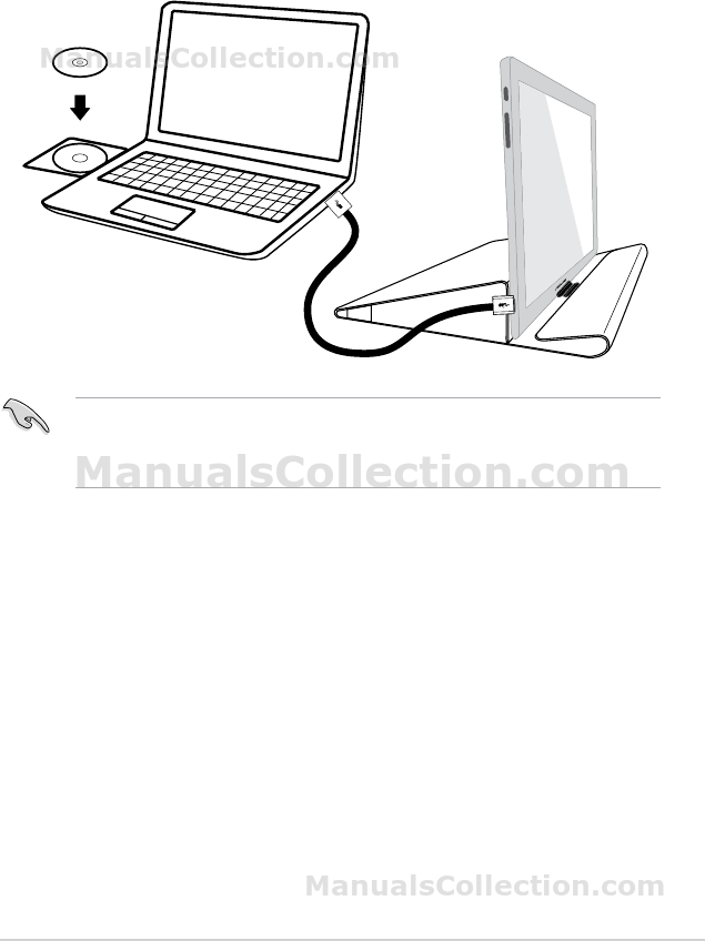 ASUS MB168B 2.3 Installing driver. MB168 Series User Guide