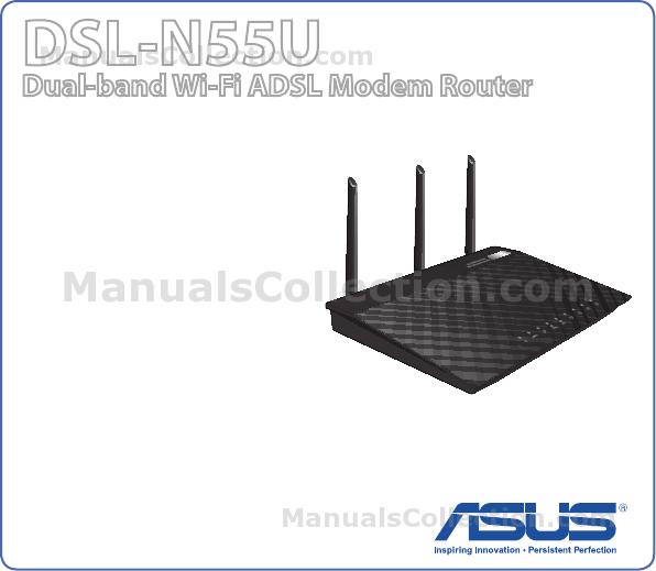 ASUS DSL-N55U (VER.B1) DSL-N55U user's manual