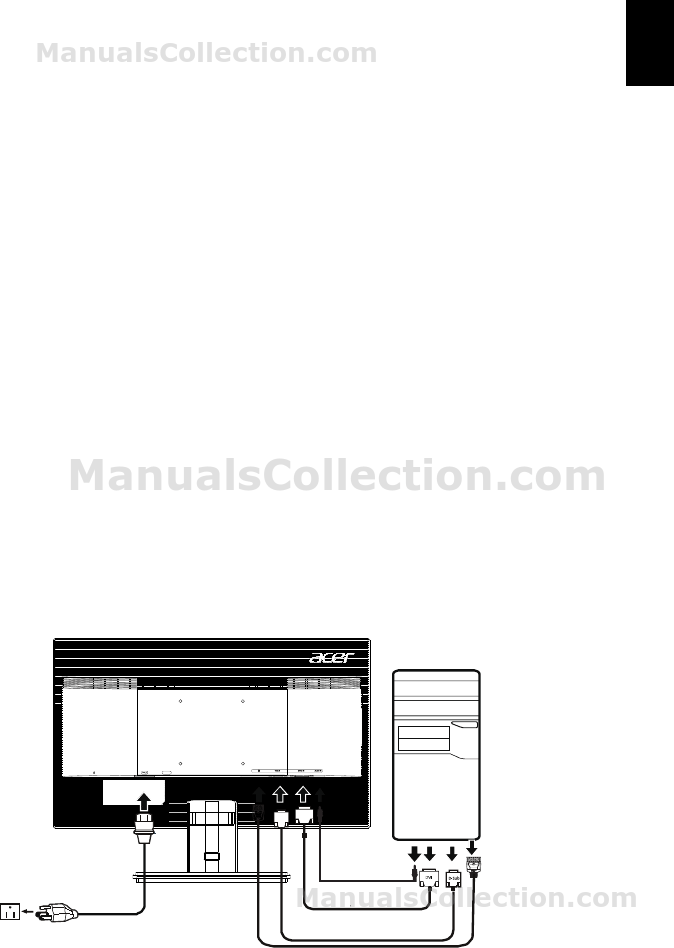 ACER V246HL Installation, 13511014527. User Manual (English)
