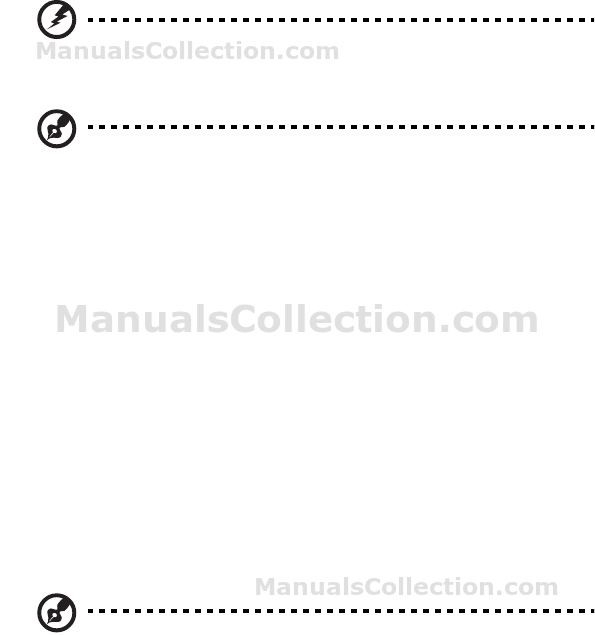 ACER Aspire Z1800 廢物處理指示. Generic User Guide (中文(繁體))