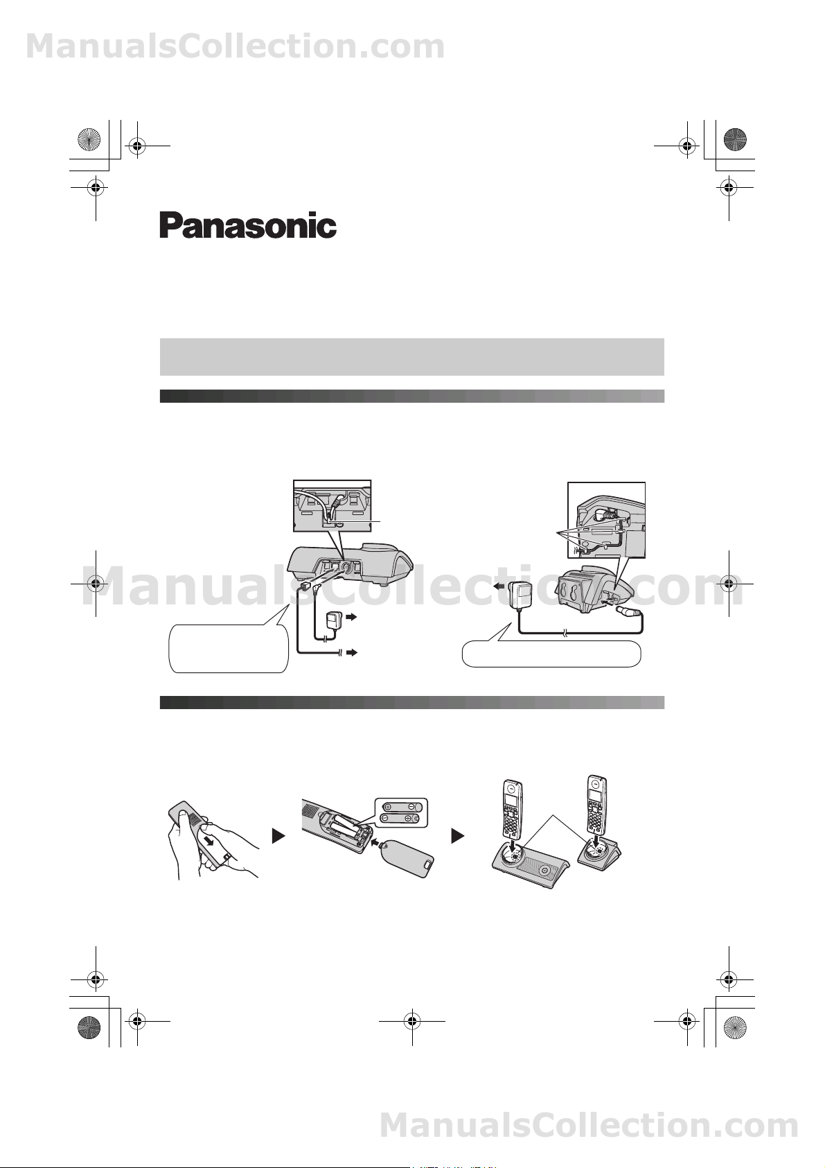 Panasonic KXTG8102E Operating Instructions (English)