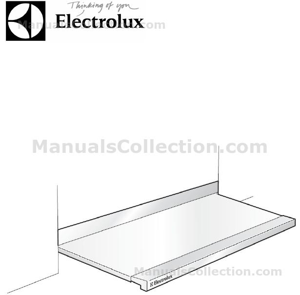 Electrolux DZGL5530CN User Manual (Français)