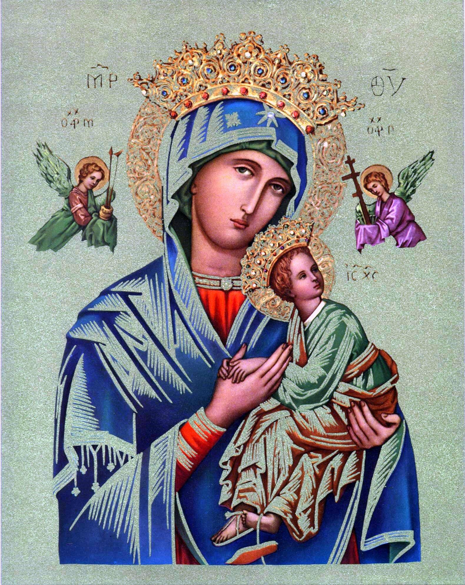 Notre Dame Du Perpétuel Secours : notre, perpétuel, secours, Notre, Perpétuel, Secours, Messages, Images, Saintes