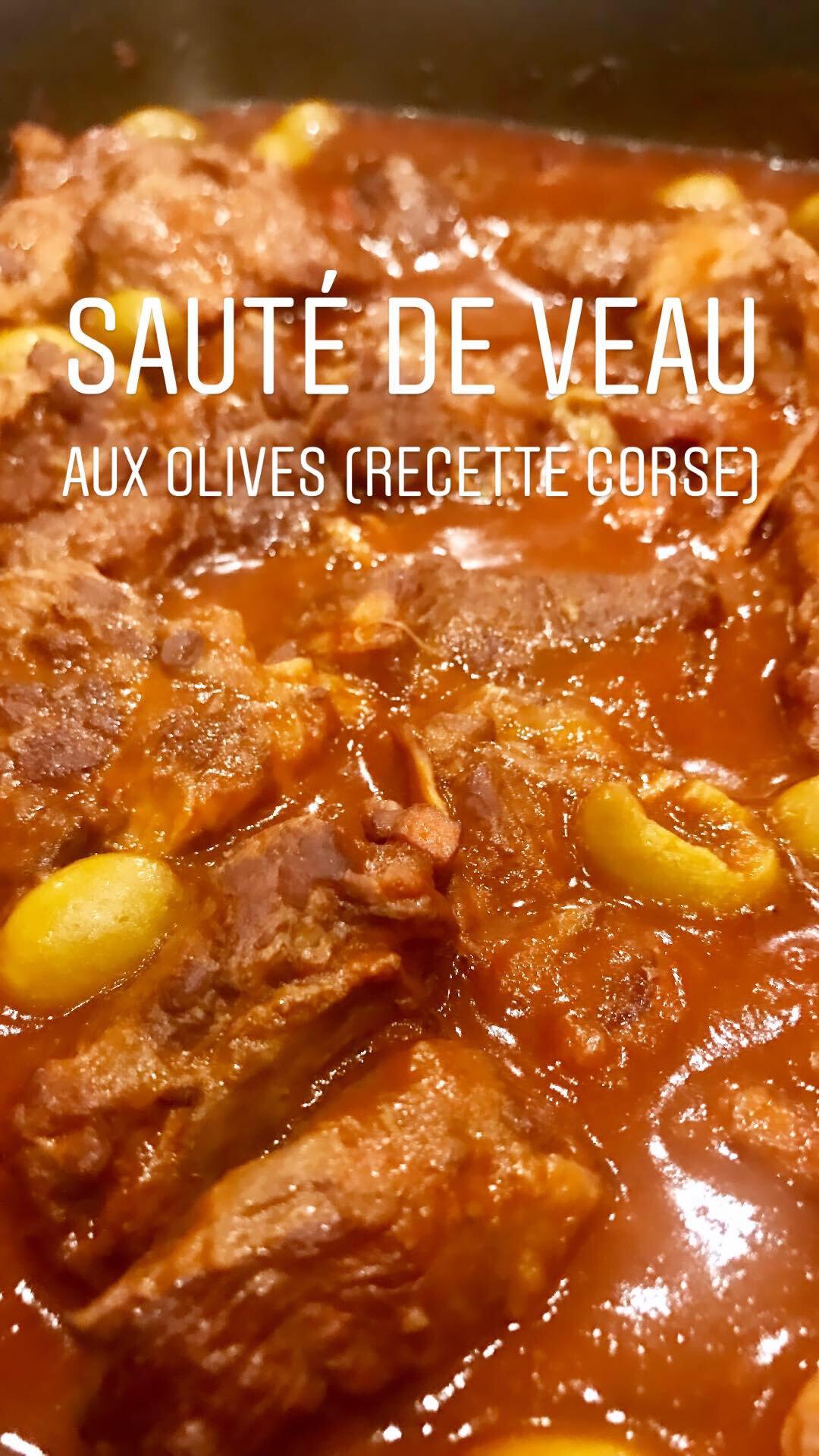 Veau Aux Olives Corse : olives, corse, Sauté, Olives, Mamie, Corse, Casseroles,, Miam-Miam, Compagnie