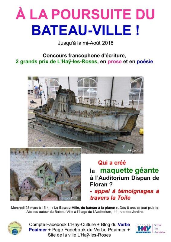 Appel à Textes Poésie 2018 : appel, textes, poésie, Association, Verbe, Poaimer