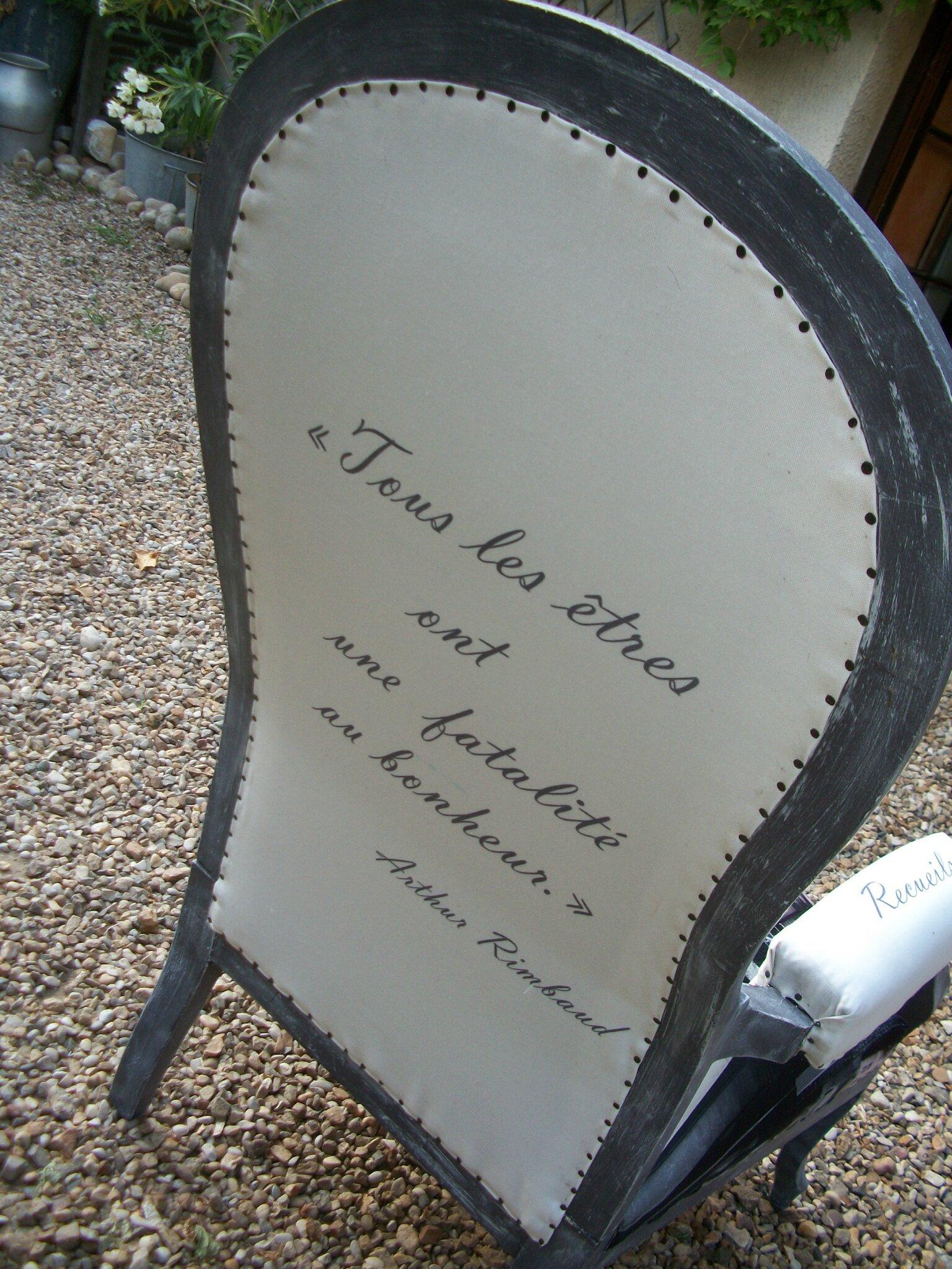 Fauteuil Rimbaud GRAIN DE FOLIE CREATION
