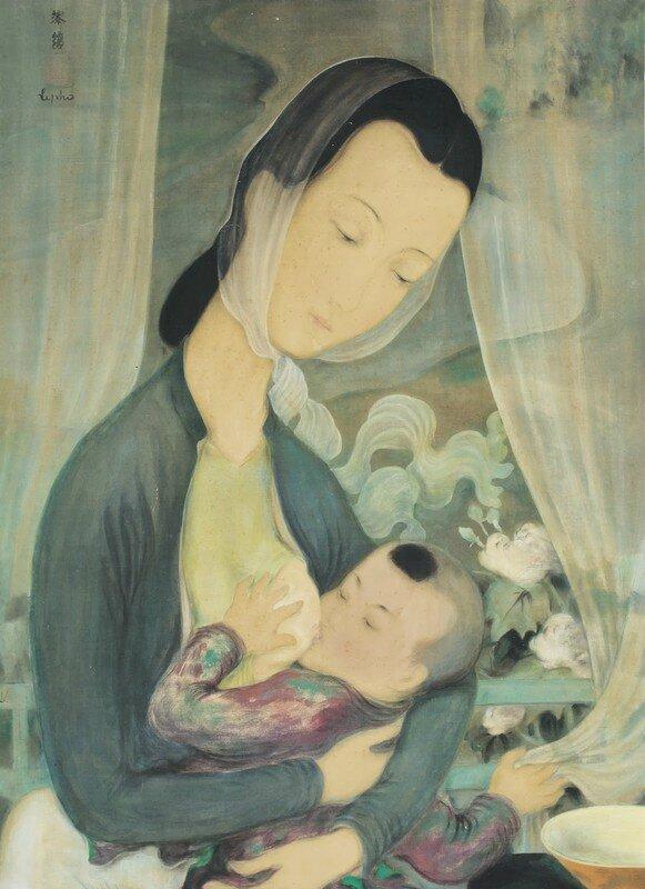 Le Pho, Maternity