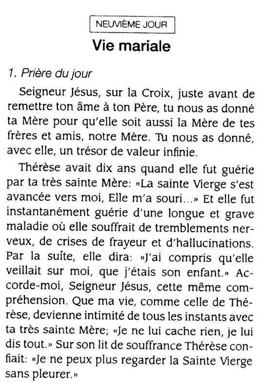 Prier avec les prières de sainte Thérèse de Lisieux - Hozana