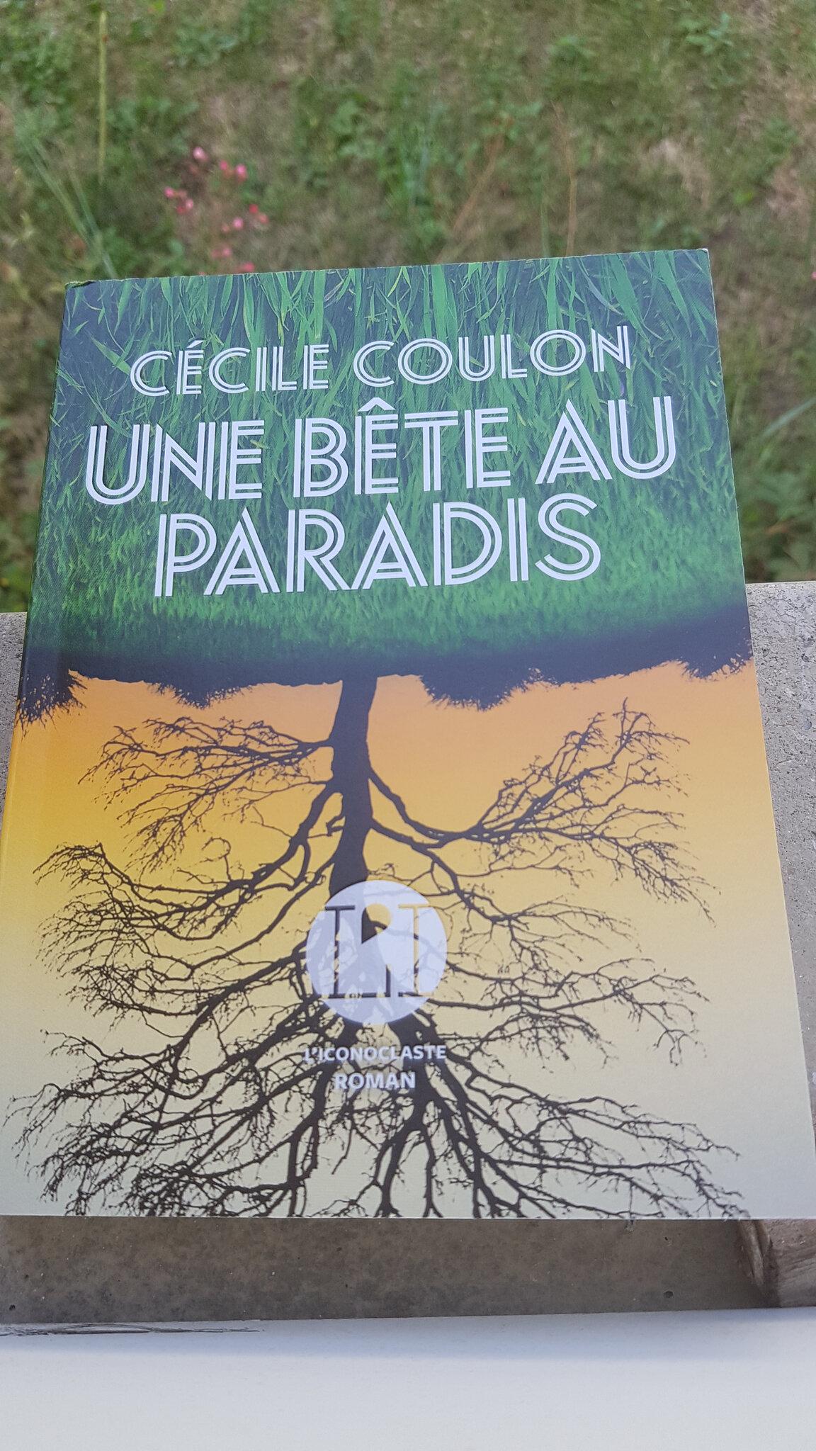 Cecile Coulon Une Bete Au Paradis : cecile, coulon, paradis, Passion:, Bête, Paradis, Cécile, Coulon, #RL19, D'eirenamg, Gourmandise, Partager:, Lecture