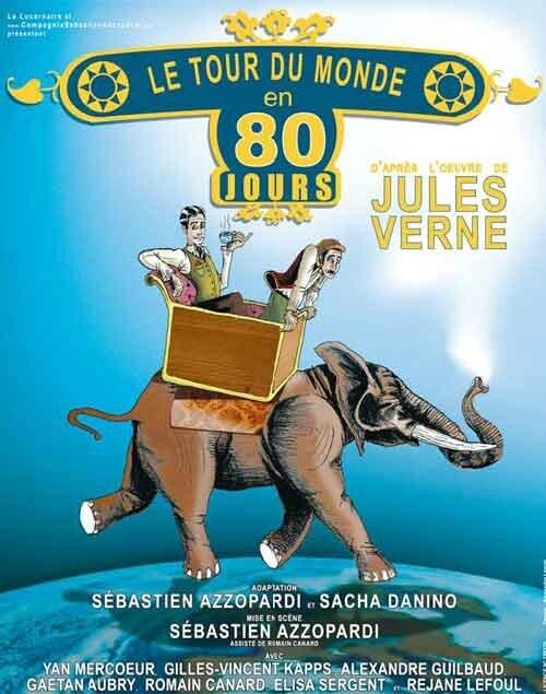Faire Le Tour Du Monde En 80 Jours Chanson : faire, monde, jours, chanson, Monde, Jours, 80minutes!!, Baz'art, Films,, Livres...