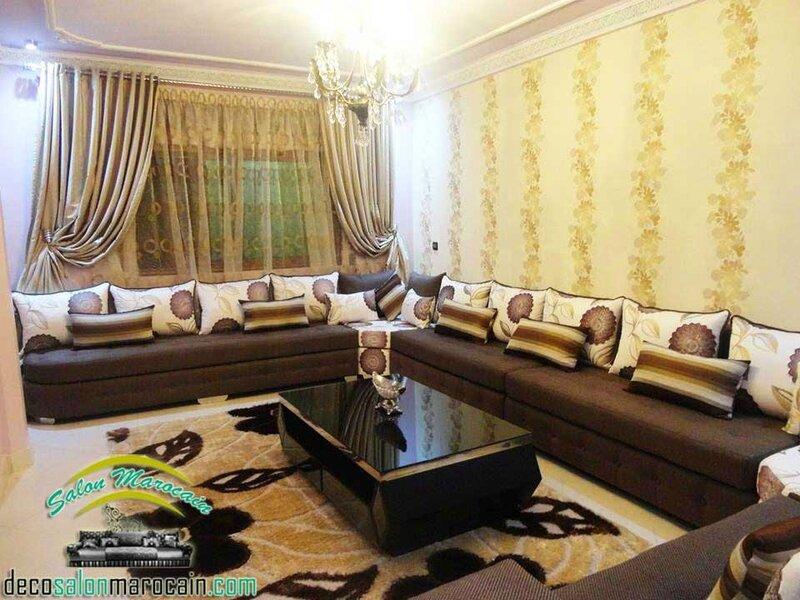 Salon marocain fes medina  Salon marocain moderne