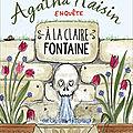 Agatha raisin t.7 a la claire fontaine, m.c. beaton