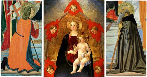 The Huntington acquires two Italian Renaissance paintings to complement its Madonna and Child in Glory Alain R Truong