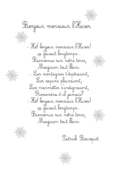 PDF  Le bonhomme de neige Dans la nuit de l'hiver Un jour, un