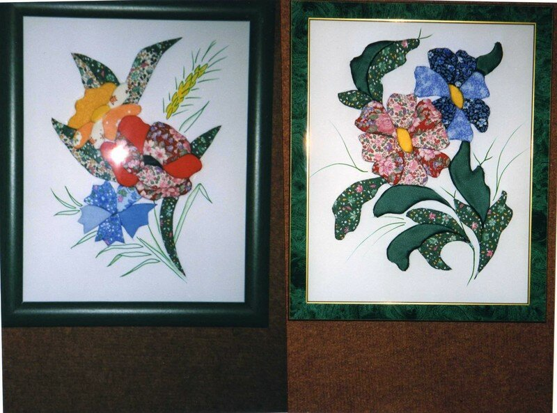 photo de 4 tableaux en carton plume