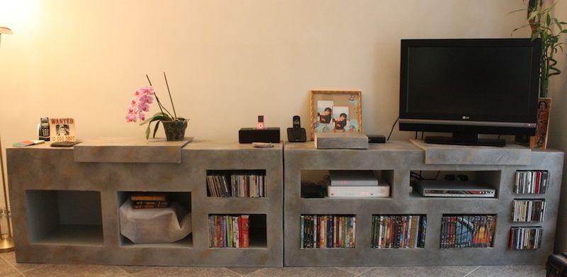 Meuble TV Suite Et Fin Mon Jardin Cratif