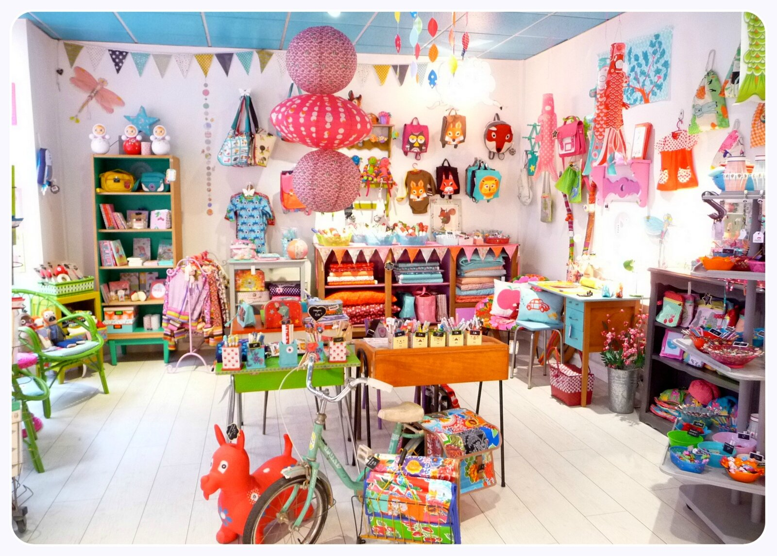Kids Shop Decoration