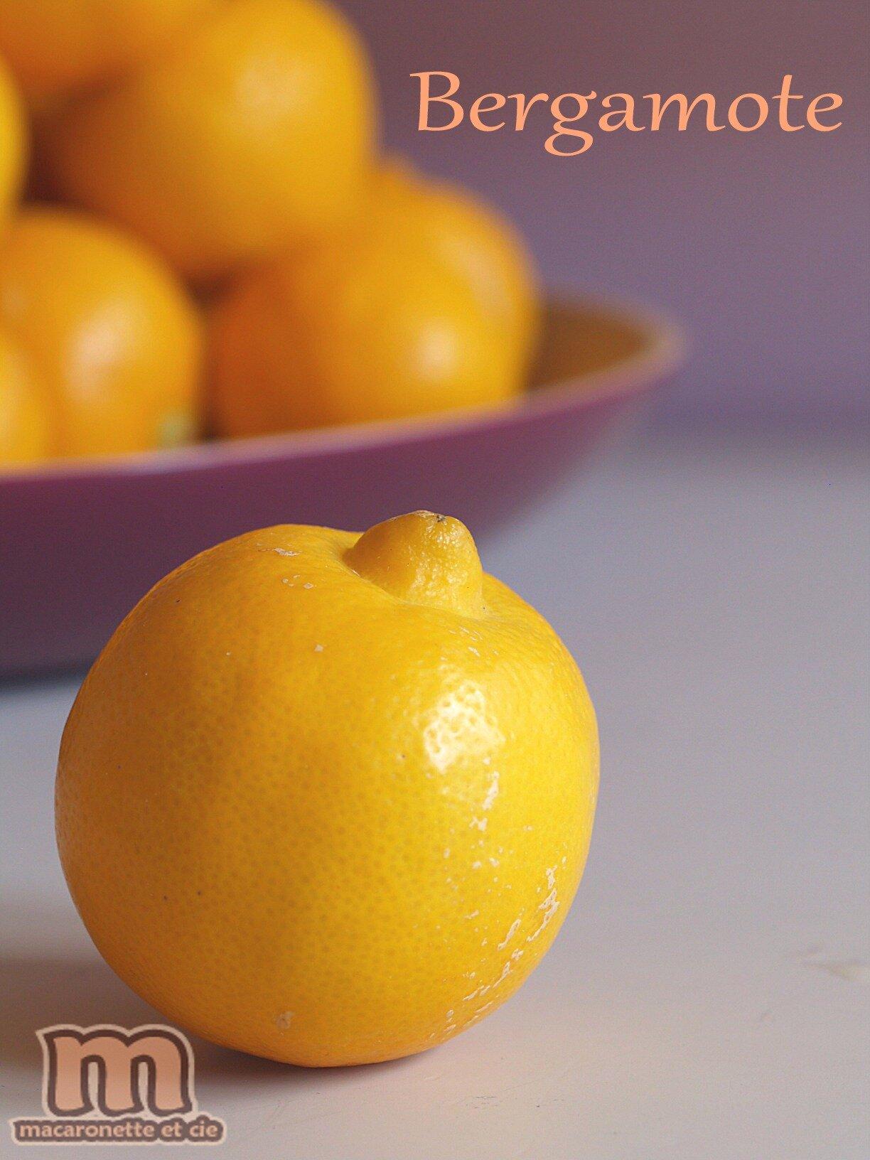 Citron bergamote curd  Macaronette et cie