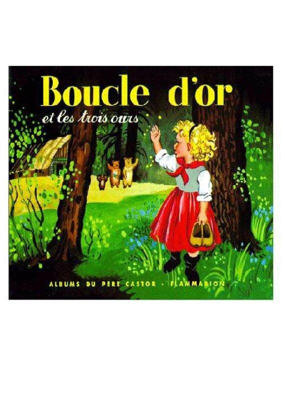 Boucle D Or Et Les Trois Ours Père Castor : boucle, trois, père, castor, Nouvel, ALBUM, Boucle, Trois, Notre, P'tite, Matern'l