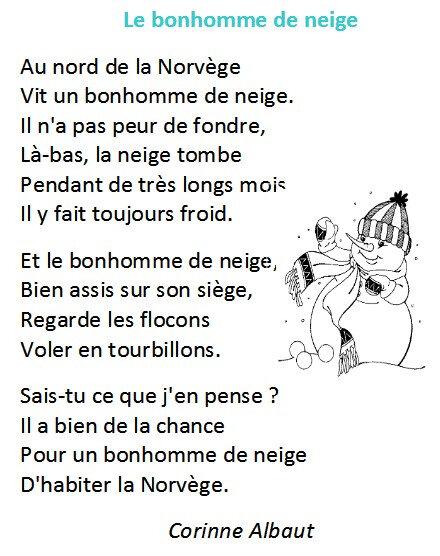 Poésie Le Bonhomme De Neige Corinne Albaut : poésie, bonhomme, neige, corinne, albaut, ☃️☃️☃️Le, Bonhomme, Neige☃️☃️☃️, Passions, Gourmandises