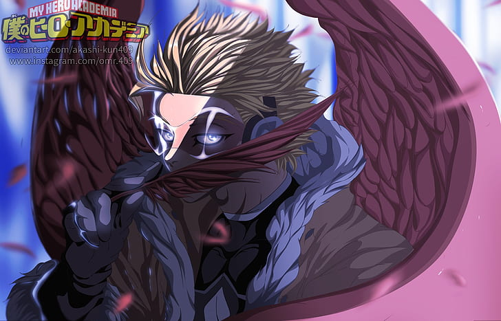 Anime My Hero Academia Hawks Boku No Hero Academia Wallpaper Hd Wallpaperbetter