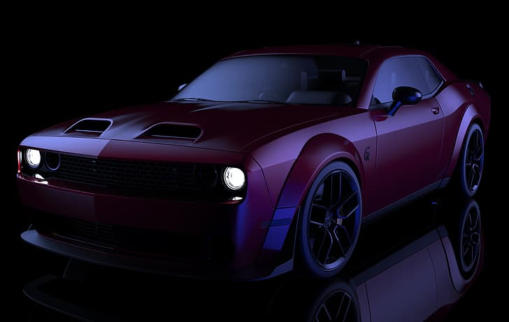 By clicking sign up, you agree to the terms of use. Dodge Challenger Hellcat Dodge Challenger Hellcat Widebody Mobil Grafik 3d Wallpaper Hd Wallpaperbetter