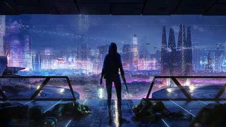 Digital digital art artwork fantasy art futuristic futuristic city HD wallpaper Wallpaperbetter