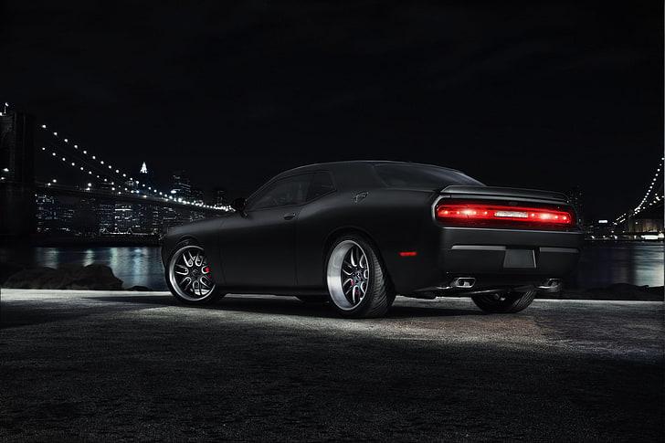 2021 dodge durango srt 392 black package 2 wallpaper. Wallpaper Black Muscle Car Hd Unduh Gratis Wallpaperbetter
