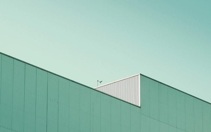 Minimalism Building Hd Wallpaper Wallpaperbetter