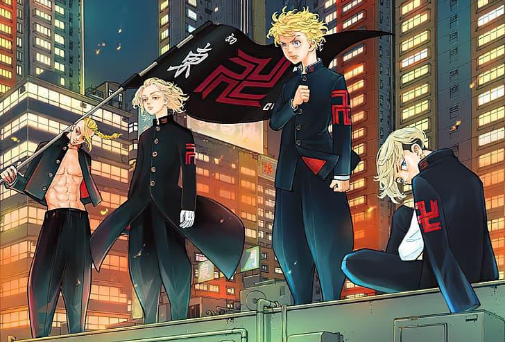 Manga Tokyo Revenger Wallpaper Hd Wallpaperbetter