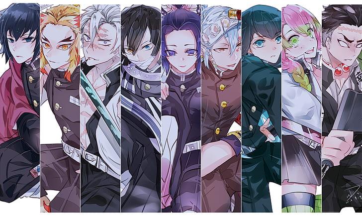 Kimetsu No Yaiba Moon Minimalism Anime Hd Wallpaper Wallpaperbetter