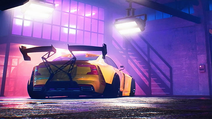 Free shipping on orders over $25 shipped by amazon. Need For Speed Heat Need For Speed Yellow Car Hd Wallpaper Wallpaperbetter