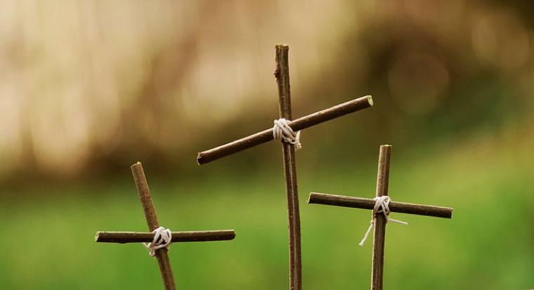 calvario, cristo, fe cristiana, cristianismo, cruz, crucifixión, pascua, fe, viernes santo, esperanza, jesús, jesucristo, pasión, redención, religión, resurrección, sufrimiento, simbolismo, tres cruces, Fondo de pantalla HD