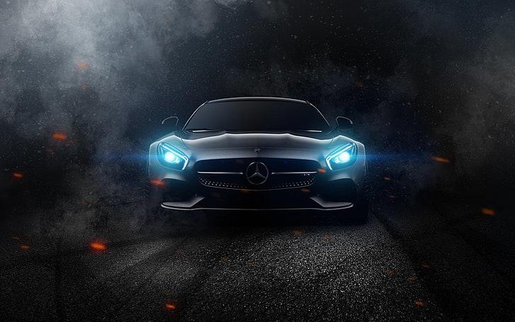 Mercedes benz ultra hd desktop background wallpapers for 4k & Mercedes Benz Mercedes Amg Car Reflection Hd Wallpaper Wallpaperbetter