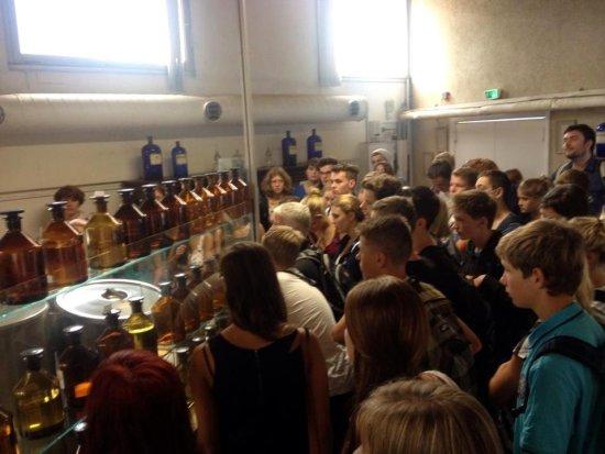 Eine sehr informative Führung in der Parfüm-Fabrik Gallimard in Grasse 1