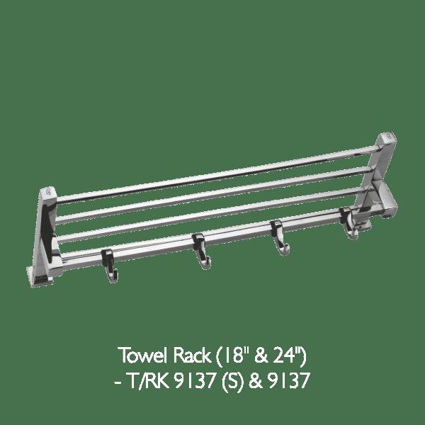 towel racks square by p4 bathfittings