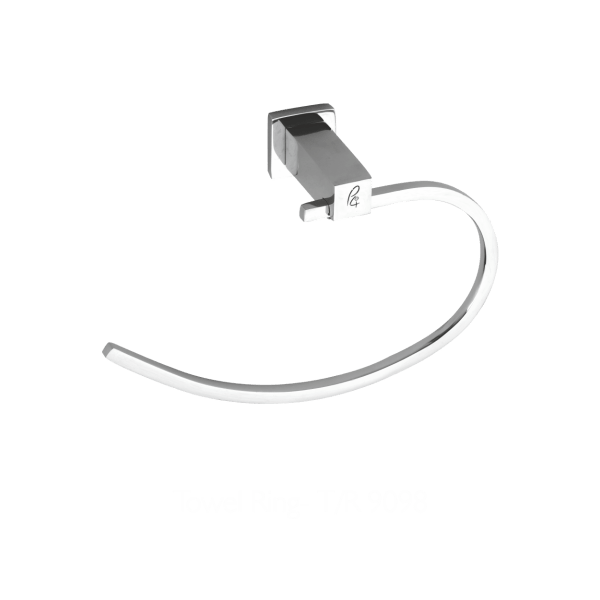 Towel ring for bathroom