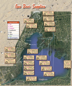 Lake St Clair Fishing Maps : clair, fishing, Clair, Guide, Magazine, Categories, Clair,, North,, Middle,, South, Channels