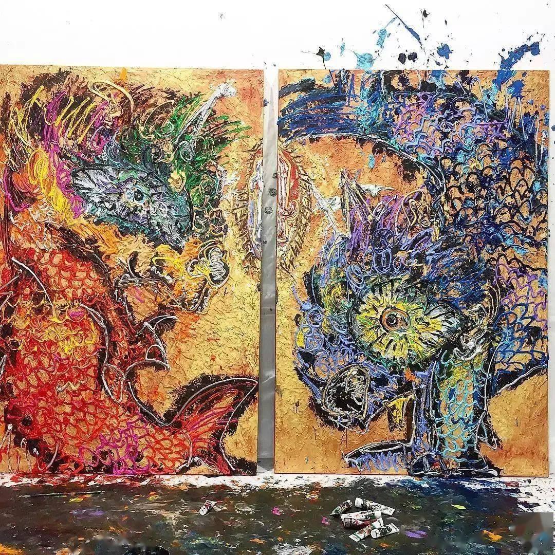 """""""狂野少女""""绘画堪比毕加索,8亿人看她作画,作品震惊整个国际画坛"""