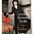 Le crime du comte neville, amélie nothomb
