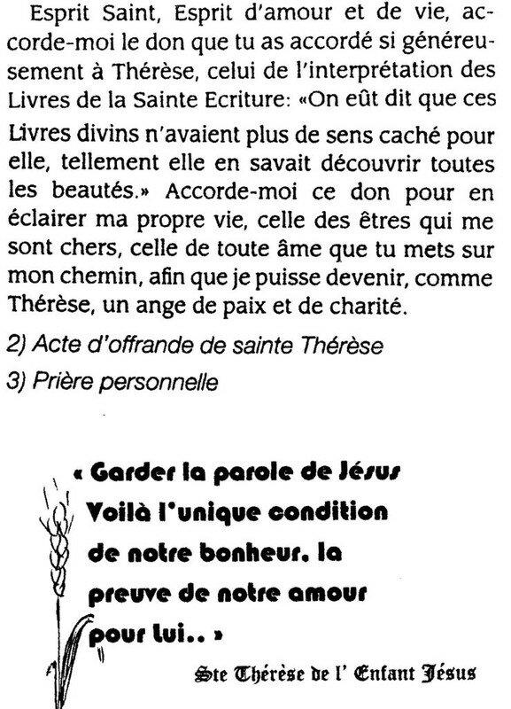 Sainte Thérèse De Lisieux Prière : sainte, thérèse, lisieux, prière, Neuvaine, Sainte-Thérese, Lisieux, Prions, Aujourd'hui