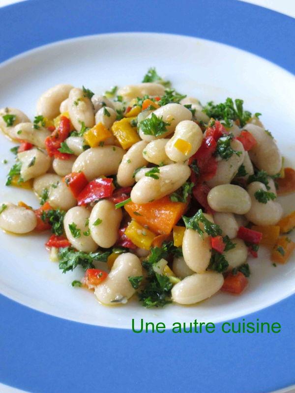 Salade de haricots blancs - Cuisine Actuelle