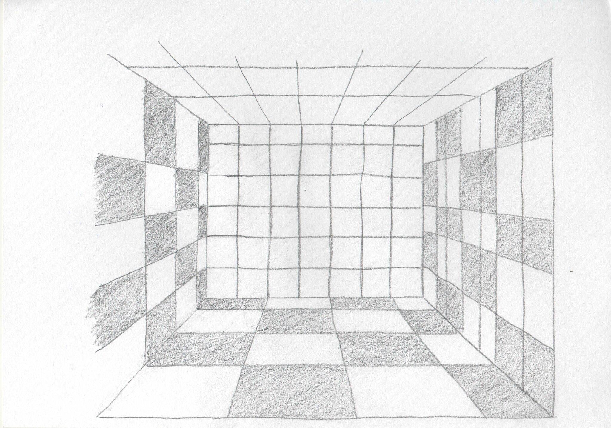 Elegant Perspective With Dessiner Une Piece En Perspective