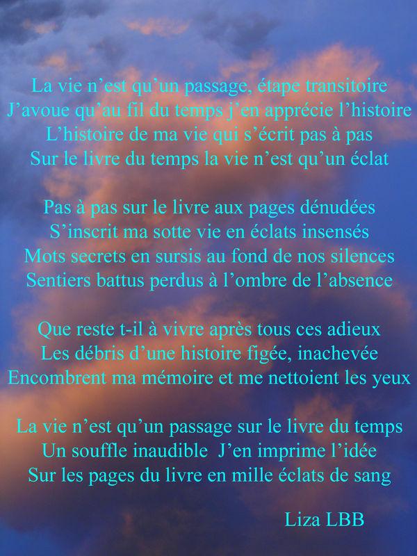 Ma Vie N'est Qu'un Instant : n'est, qu'un, instant, N'est, Qu'un, Passage, FLAMMES, D'AME