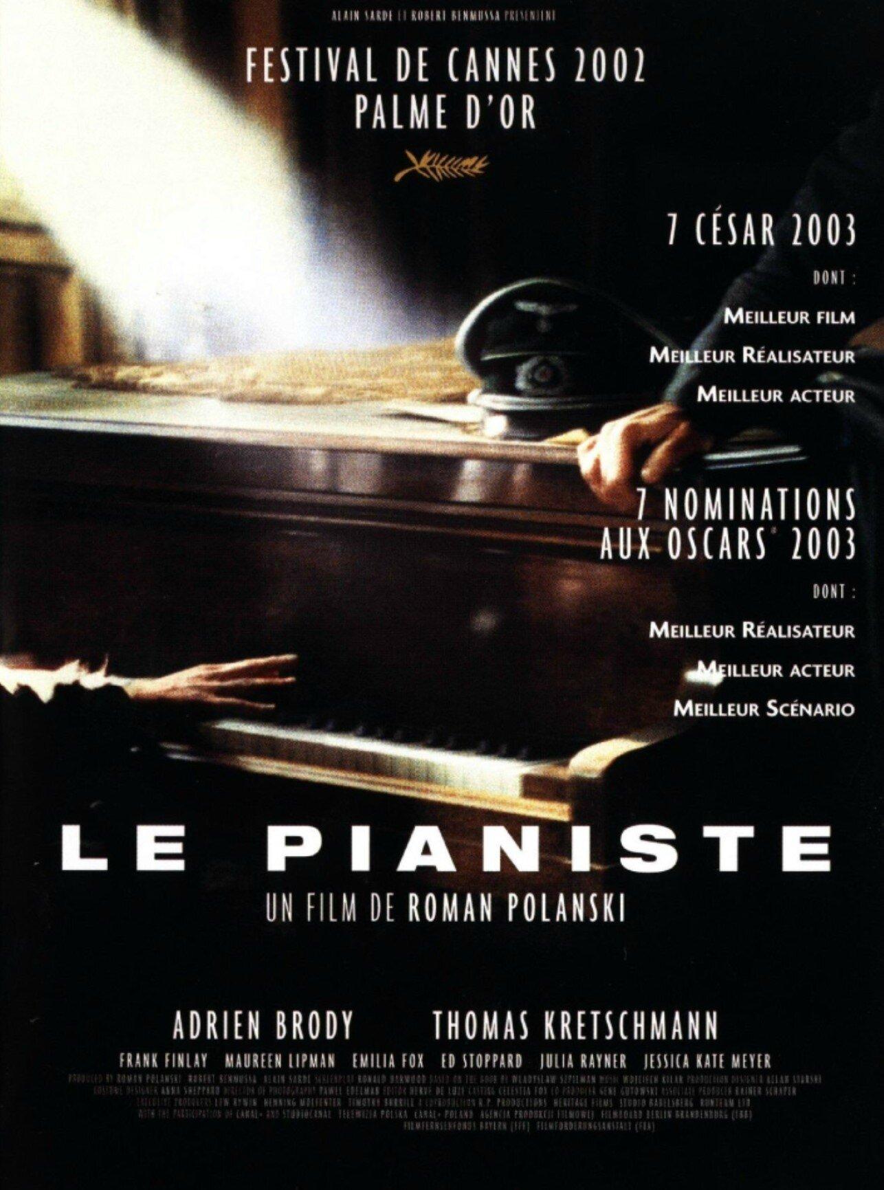 Musique Du Film Le Pianiste : musique, pianiste, Pianiste, Réalisé, Roman, Polanski, Films, Seconde, Guerre, Mondiale