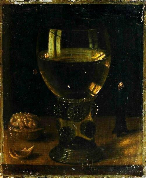 Roemer , noix et mêche incandescente , hs chêne , 19 x 16cm - commissaireTurquin , Vt Enghien -les-Bains , le 01