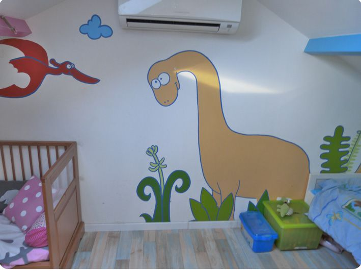 relooking de la chambre des enfants la peinture