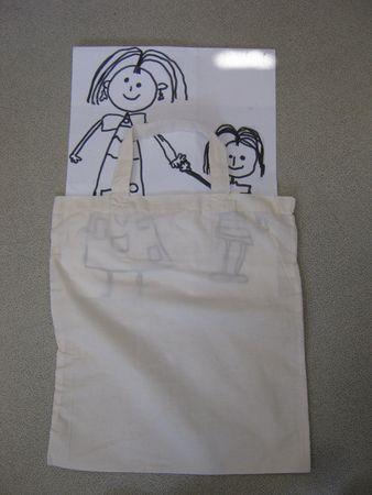 Fte des mres MS  petits sacs en tissu  Le tour de ma classe
