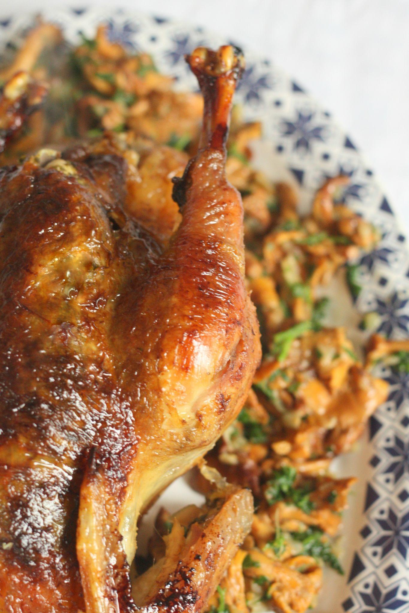 Cuisson Poularde Au Four : cuisson, poularde, Poularde, Bresse, Farcie, Beurre, D'herbes, Requia,, Cuisine, Confidences